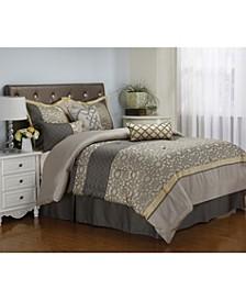 Joseline 7-Piece Queen Comforter Set