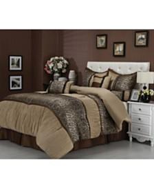 Sadie 7-Piece King Comforter Set