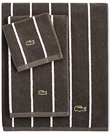 "LAST ACT! Lacoste Sport Stripe 30"" x 52"" Bath Towel"