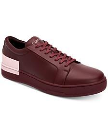 Calvin Klein Men's Nemi Smooth Nappa Sneakers