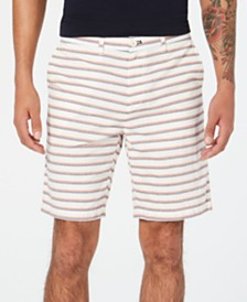 "Tommy Hilfiger Men's Striped 9"" Shorts, Created for Macy's"