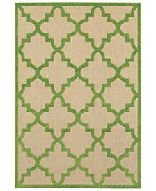 "Oriental Weavers Cayman 660 6'7"" x 9'6"" Indoor/Outdoor Area Rug"