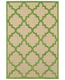 "Oriental Weavers Cayman 660 1'10"" x 3'3"" Indoor/Outdoor Area Rug"
