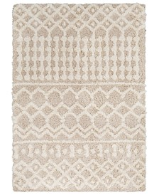 "Urban Shag USG-2303 Cream 6'7"" x 9'6"" Area Rug"
