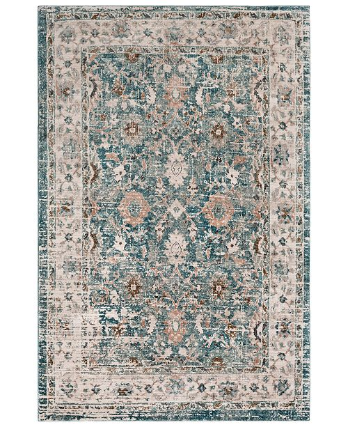 Surya Soft Touch SFT-2305 Teal 2' x 3' Area Rug