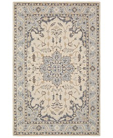 Viva VVA-1003 Light Gray 8' x 10' Area Rug