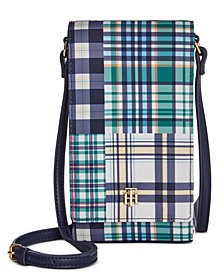 Tommy Hilfiger Julia Patchwork Phone Crossbody