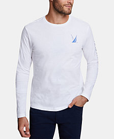 Nautica Men's Blue Sail Long-Sleeve T-Shirt, Created for Macy's