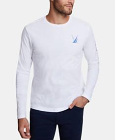 836de0d288a2 Nautica Men's Blue Sail Long-Sleeve T-Shirt, Created for Macy's
