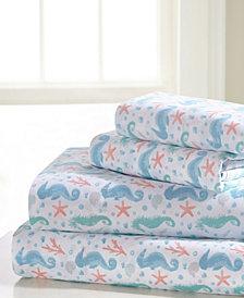 Seahorse Queen Sheet Set