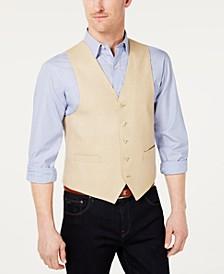 Men's Classic-Fit Linen Vest