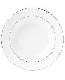 Wedgwood Signet Platinum Rim Soup Bowl