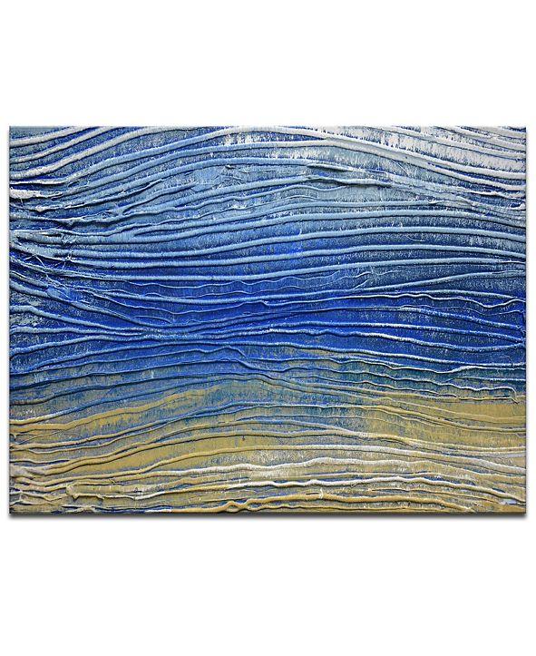 "Ready2HangArt 'Dry Night Relaxation' Canvas Wall Art, 20x30"""