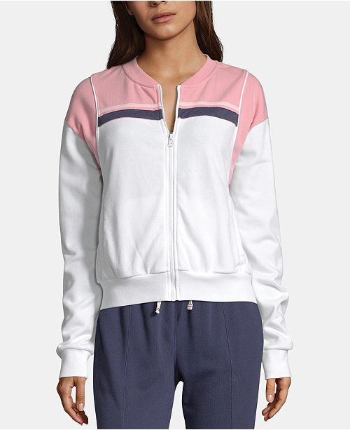 Champion Heritage Colorblocked Warm-Up Jacket