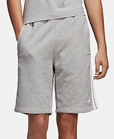 "adidas Men's Three-Stripe 10"" Shorts"