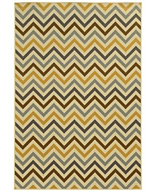 "Riviera 4593 7'10"" x 10'10"" Indoor/Outdoor Area Rug"