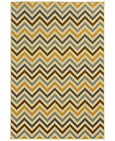 "Oriental Weavers Riviera 4593 1'9"" x 3'9"" Indoor/Outdoor Area Rug"
