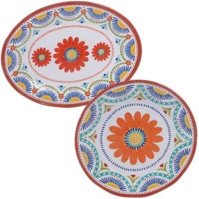 Melamine Vera Cruz 2-Pc. Platter Set