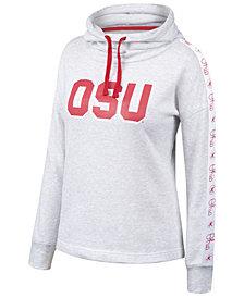 Authentic NCAA Apparel Women's Ohio State Buckeyes Cowl Neck Sweatshirt