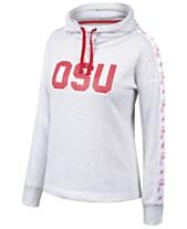 Authentic NCAA Apparel Women s Ohio State Buckeyes Cowl Neck Sweatshirt 42b2f9dde9