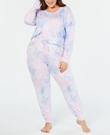 c92f5da34e3b Jenni Plus Size Soft Knit Pajama Set