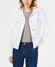 Hudson Jeans Cotton Denim Trucker Jacket