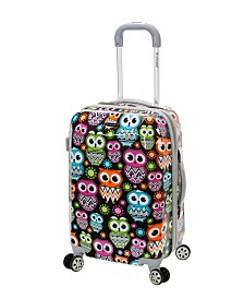 "Rockland Owls 20"" Hardside Carry-On"