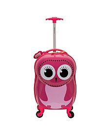 Rockland Owl My First Luggage Hardside Carry On