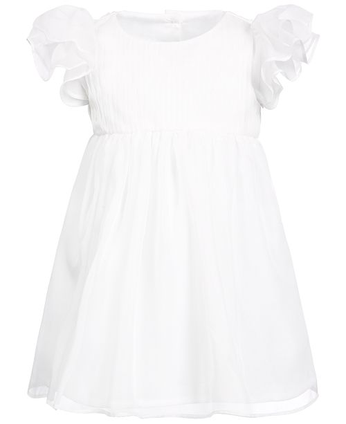 First Impressions Baby Girls Chiffon Dress, Created for Macy's