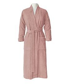 100% Turkish Cotton Pleated Robe