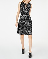 f3a6ec4121 MICHAEL Michael Kors Wild Bouquet Tiered Dress