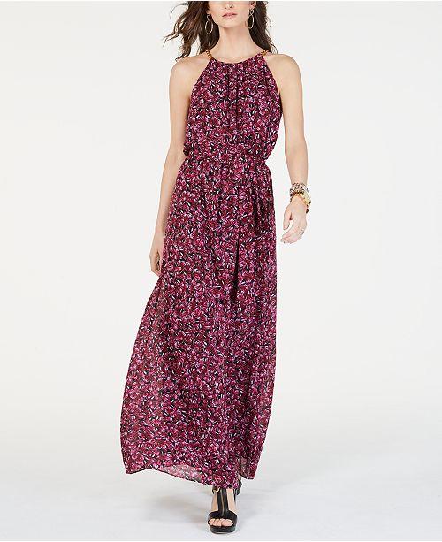 478cfcf6b ... Michael Kors Grand Papillon Maxi Dress