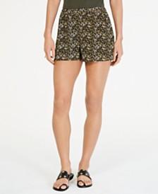 MICHAEL Michael Kors Floral-Print Shorts