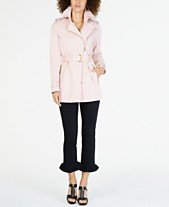 b6559e3abae MICHAEL Michael Kors Belted Trench Coat