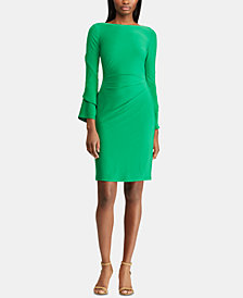 Lauren Ralph Lauren Ruffle-Sleeve Dress