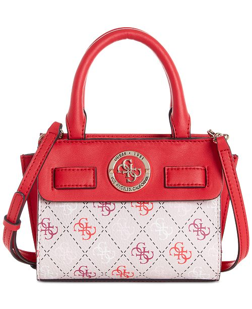 GUESS Landon Signature Mini Satchel