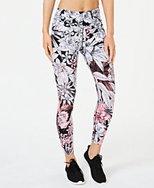Calvin Klein Performance Bouquet Printed High-Waist Leggings