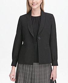 Calvin Klein Shirt-Sleeve Blazer