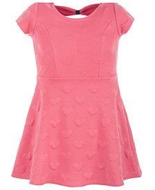 Epic Threads Toddler Girls Bow Back Heart Skater Dress, Created for Macy's
