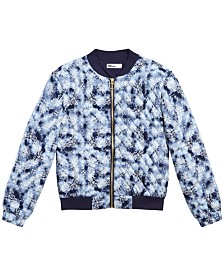 Epic Threads Little Girls Quilted Bomber Jacket, Created for Macy's
