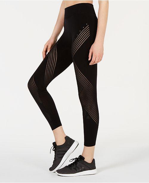 bce8b191c84f9 adidas Warp Knit Ankle Leggings & Reviews - Pants & Capris - Women ...