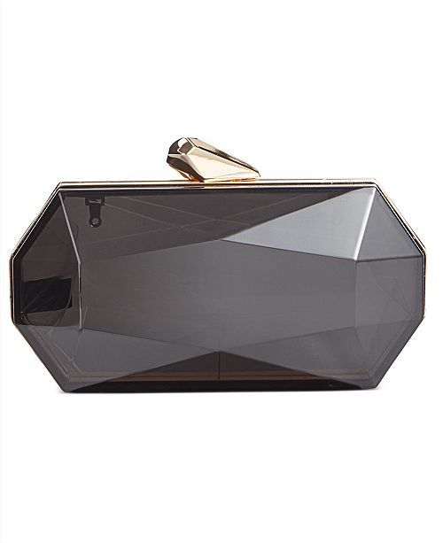 INC International Concepts I.N.C. Nichole Lucite Clutch, Created for Macy's
