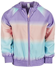 Ideology Little Girls Hooded Ombré Jacket, Created for Macy's