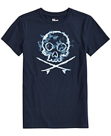 Big Boys Skull Graphic T-Shirt, Created for Macy's