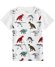 Epic Threads Little Boys Dinosaur-Print T-Shirt, Created for Macy's