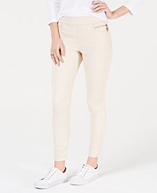 Tommy Hilfiger Sateen Skinny Ankle Pants