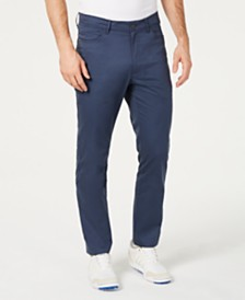Greg Norman Men's Five-Pocket Performance Pants