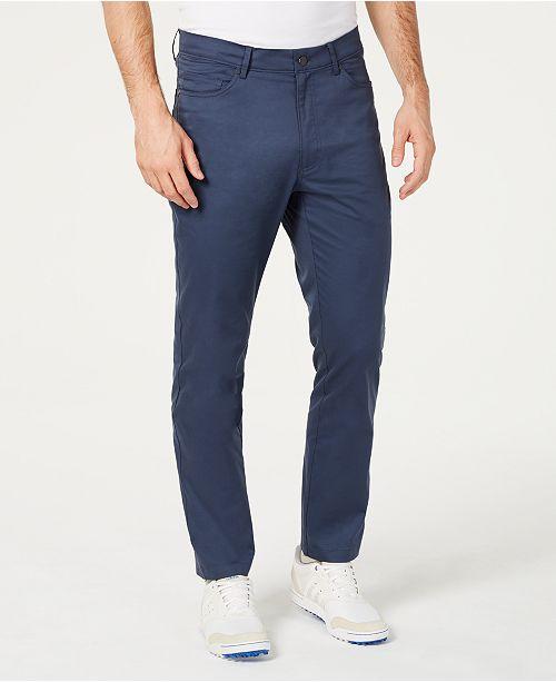 Greg Norman Men's Five-Pocket Performance Pants