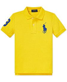 Polo Ralph Lauren Little Boys Mesh Cotton Polo