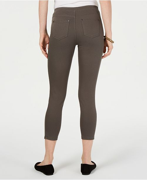 ef08d3a884bdb Style & Co Twill Capri Leggings, Created for Macy's & Reviews ...